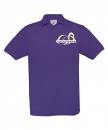"Kinder Polo-Shirt ""Lila"" mit Logo-Stick"